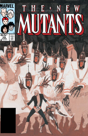 New Mutants Vol 1 28