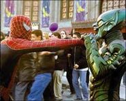 Peter Parker (Earth-96283) and Norman Osborn (Earth-96283) from Spider-Man (2002 film) 0001