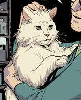 Pickles (Cat) (Earth-616) from Hawkeye vs. Deadpool Vol 1 0 001