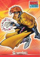 Remy LeBeau (Earth-616) from Marvel Legends (Trading Cards) 0001