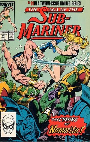 Saga of the Sub-Mariner Vol 1 11