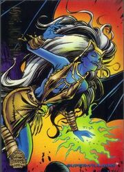 Semiramis (Earth-616) from Marvel Universe Cards 1994 Set 0001