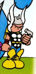 Thor Odinson (Earth-22020) from Marvel Universe Millennial Visions Vol 1 1 001