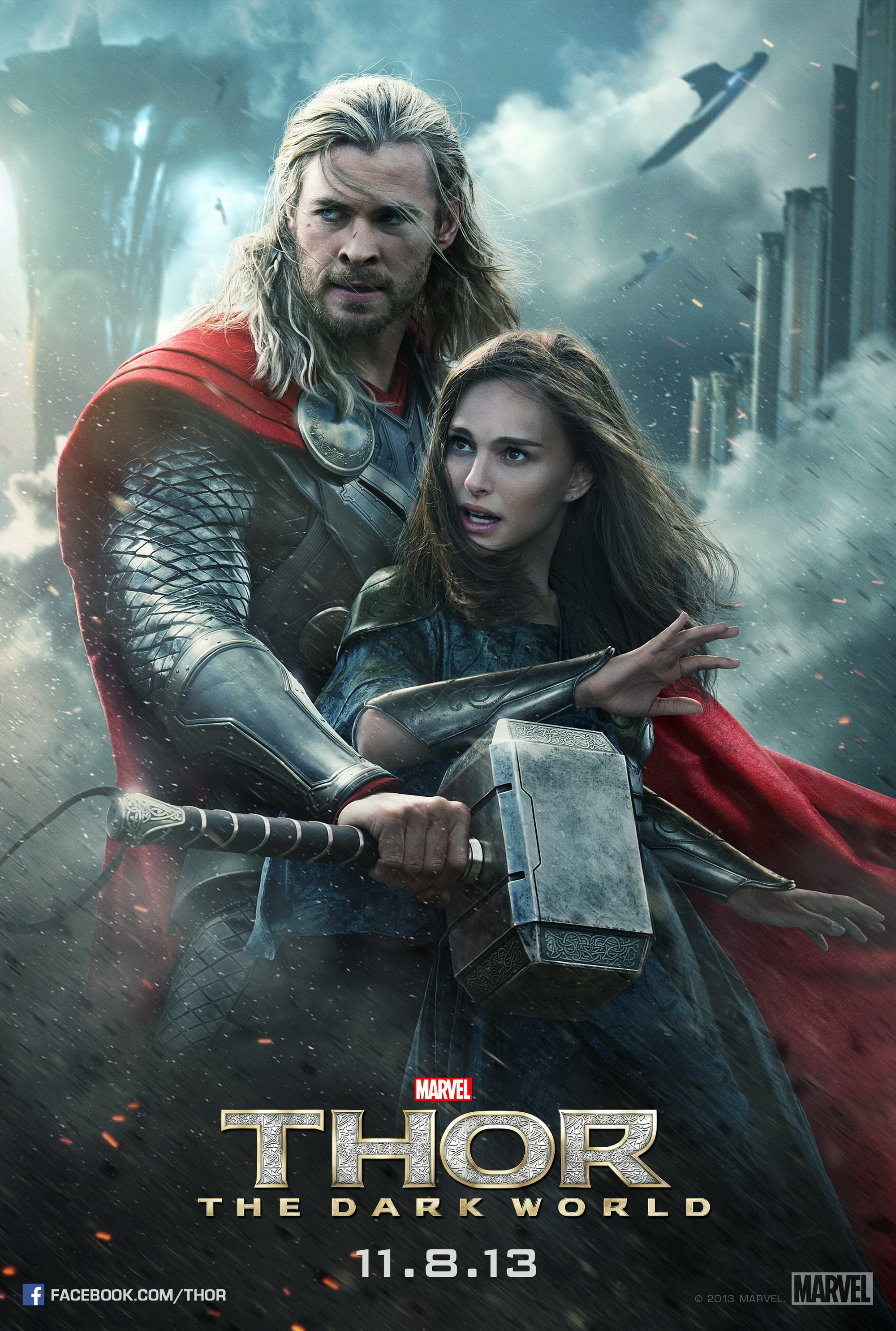 Thor The Dark World (2013) BluRay 720p 800MB ( Hindi – English ) ESubs MKV