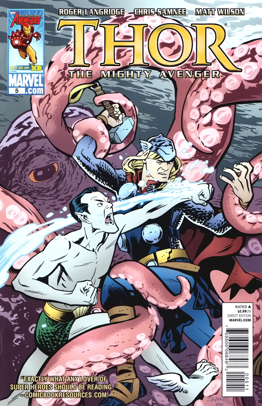 Thor The Mighty Avenger Vol 1 5