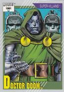 Victor von Doom (Earth-616) from Marvel Universe Cards Series II 0001