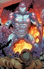Alpha (Sentinel) (Earth-616) from X-Men Gold Vol 2 4 001