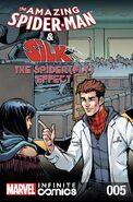 Amazing Spider-Man & Silk The Spider(fly) Effect Infinite Comic Vol 1 5