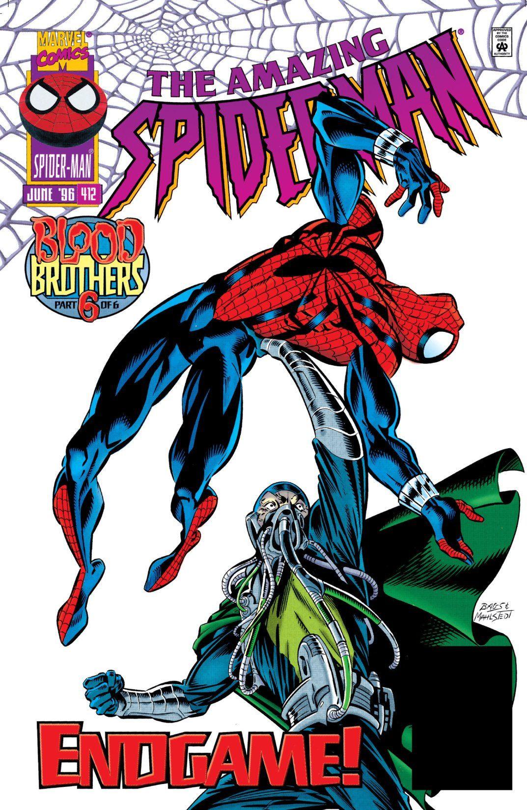 Amazing Spider-Man Vol 1 412