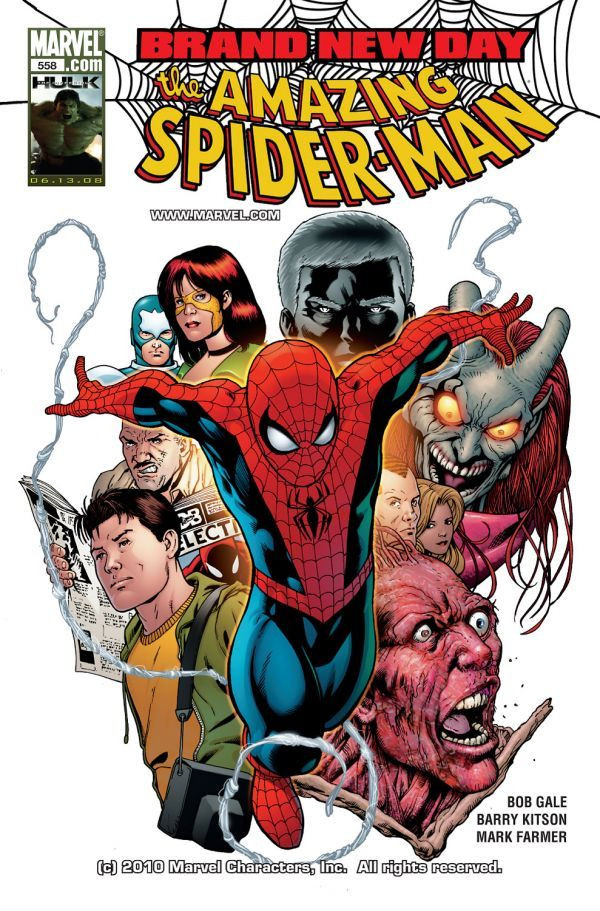 Amazing Spider-Man Vol 1 558