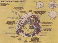 Ant-Man's Helmet from Official Handbook of the Marvel Universe Vol 1 15 0001