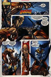 En Sabah Nur (Earth-616) and Sandstormers (Earth-616) from Rise of Apocalypse Vol 1 1 0001