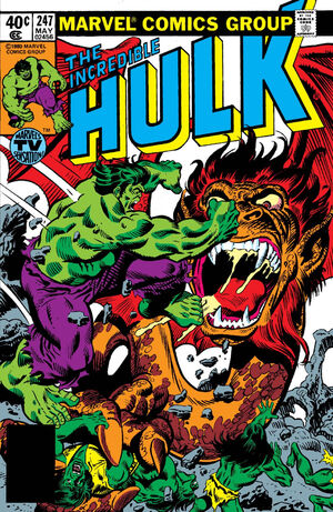 Incredible Hulk Vol 1 247