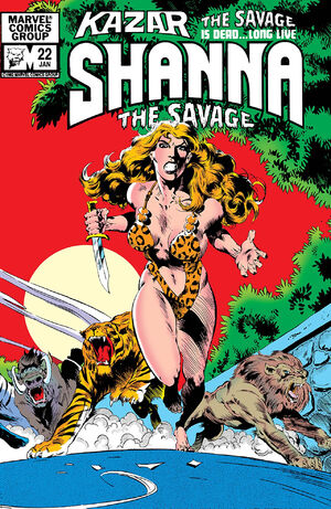 Ka-Zar the Savage Vol 1 22