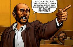 Mahmoud Ahmadinejad (Earth-616) from X-Men Schism Vol 1 1 0001