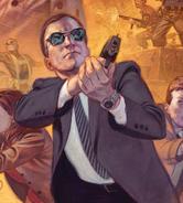 Phillip Coulson (Earth-616) Cover SHIELD Vol 3 9