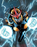 Rael Rider (Earth-691) from Guardians 3000 Vol 1 4 001
