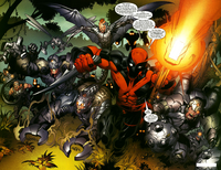Reavers (Earth-1610) from Ultimate Spider-Man Vol 1 92 0001