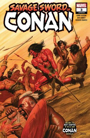 Savage Sword of Conan Vol 2 3