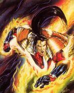 Shiro Yoshida (Earth-616) from Ultra X-Men (Trading Cards) 0001