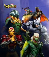 Sinister Six (Earth-TRN670) from Marvel Strike Force 002