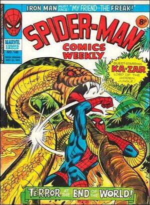 Spider-Man Comics Weekly Vol 1 145