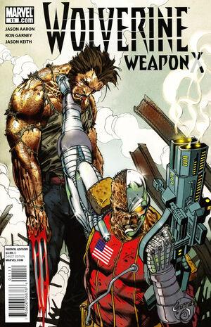 Wolverine Weapon X Vol 1 11