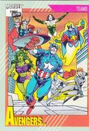 Avengers (Earth-616) from Marvel Universe Cards Series II 0001