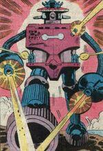 Cerberus (Robot) (Earth-616) from Shogun Warriors Vol 1 8 001