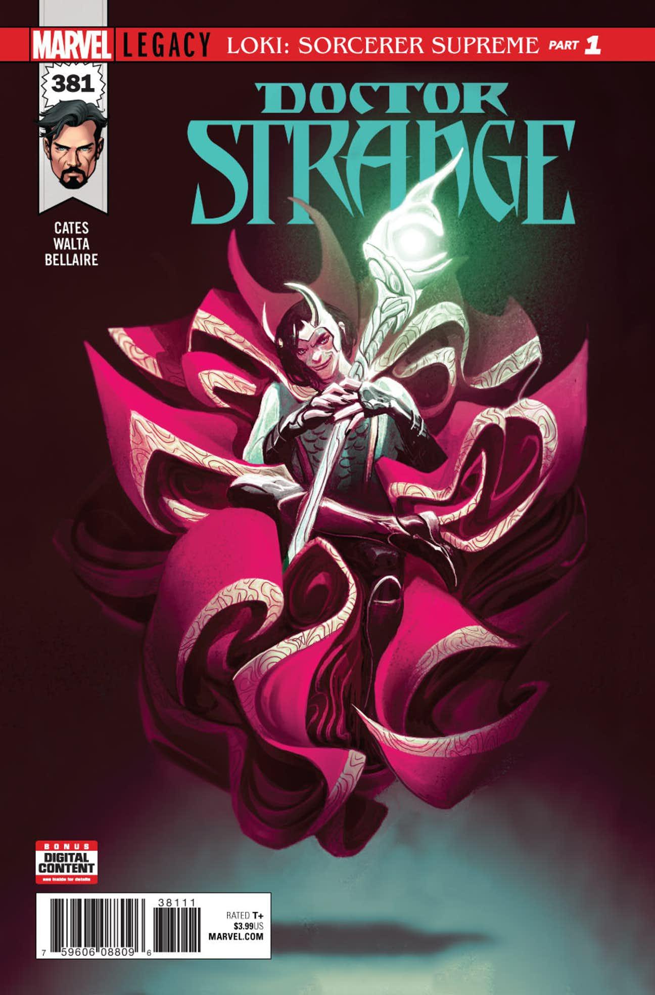 Doctor Strange Vol 1 381