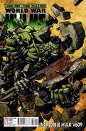 Incredible Hulk Vol 1 609 Finch Variant