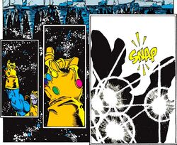 Infinity Gauntlet (Item) from Infinity Gauntlet Vol 1 1 001