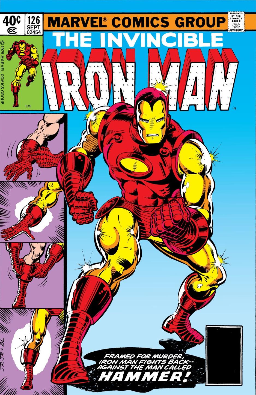 Resultado de imagen para Iron Man 126
