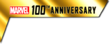 Marvel 100th Anniversary (2014) logo