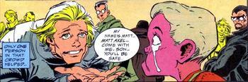 Matt Axel & Saber Hagen (Earth-928) from Punisher 2099 Vol 1 17 0001