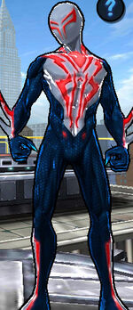 Miguel O'Hara (Earth-TRN461) from Spider-Man Unlimited (video game) 005
