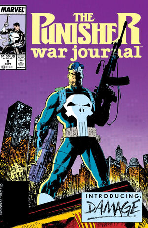 Punisher War Journal Vol 1 8