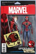Spider-Man Deadpool Vol 1 1 Action Figure Variant
