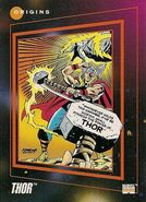 Thor Odinson (Earth-616) from Marvel Universe Cards Series III 0002