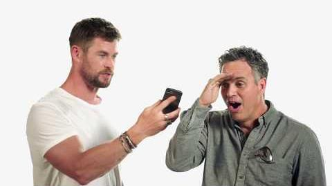 Thor Ragnarok -- Chris Wishes Cate a Happy Hella-ween