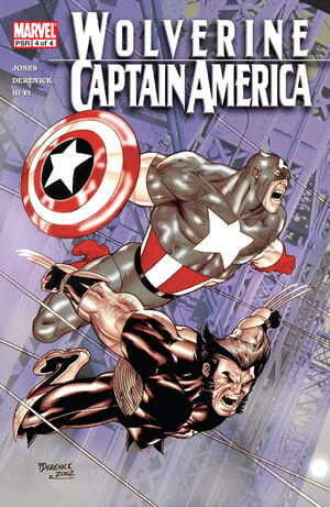 Wolverine Captain America Vol 1 4