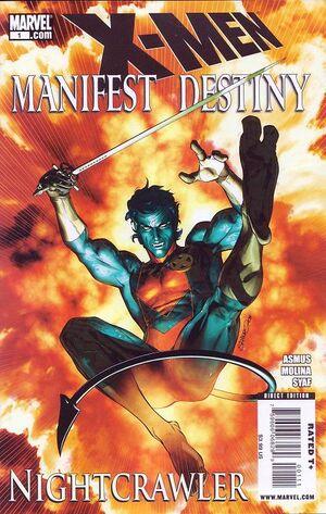 X-Men - Manifest Destiny Nightcrawler Vol 1 1