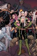 X-Men Schism Vol 1 4 Cho Variant Textless