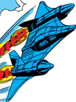 X-Men Stratojet from X-Men Vol 1 94 001