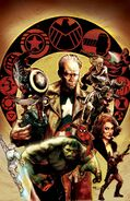 Avengers Vol 5 44 Harris Variant Textless