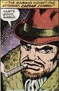 Caesar Cicero (Earth-616) from Power Man and Iron Fist Vol 1 61 0001