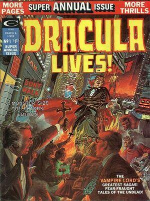 Dracula Lives Annual Vol 1 1