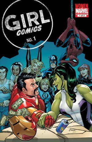 Girl Comics Vol 2 1