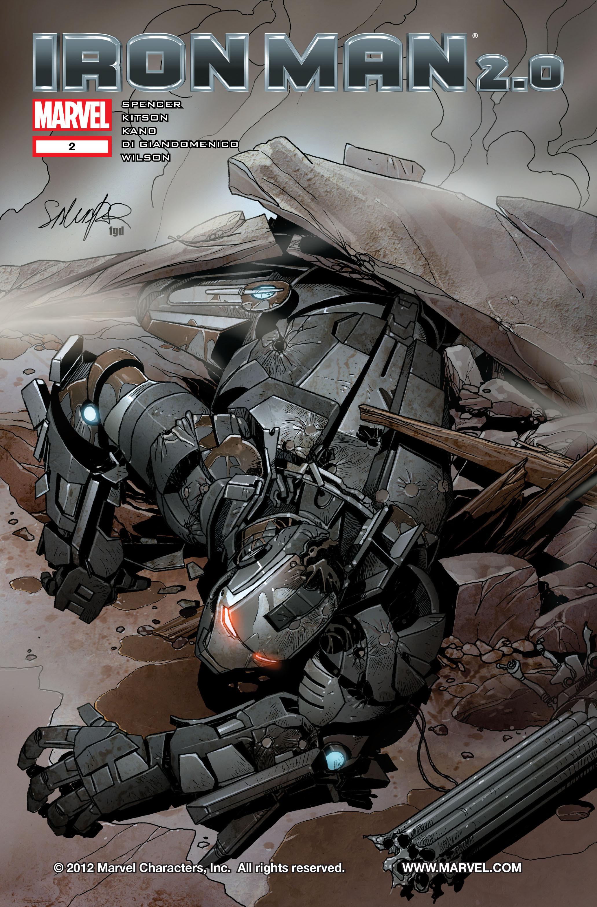 Iron Man 2.0 Vol 1 2