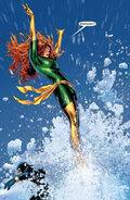 Jean Grey (Earth-616), Phoenix Force (Earth-616) and Scott Summers (Earth-616) from X-Men Phoenix Endsong Vol 1 5 0001